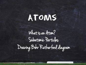 Chemistry Unit - Atoms, Atomic Number, Atomic Mass & Bohr