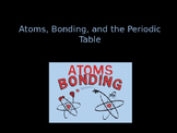 Atoms Bonding and the Periodic Table