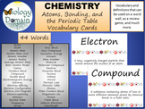 Chemistry: Atoms, Bonding, and the Periodic Table Word Wal