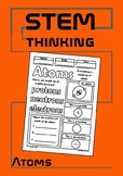 Atoms Color and Learn Elementary Science Notes