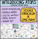 Atoms Comic with Guided Notes