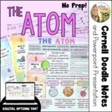 Atoms and Reading the Periodic Table Cornell Doodle Notes and Powerpoint