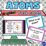 Atoms Task Cards Activity for Google Classroom
