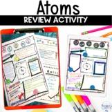 Atoms Proton Neutron Electron Review Activity for Distance
