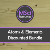 Atoms Elements Bonding Doodle Sheet Visual Guided Notes Chemistry