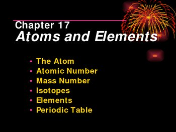 Atoms & Elements PPT