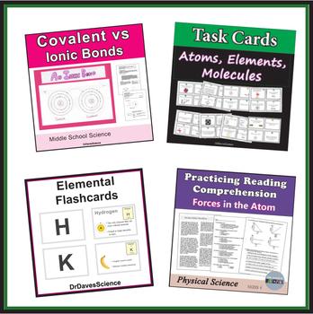 Atoms, Elements, Periodic Table, Molecules Bundle