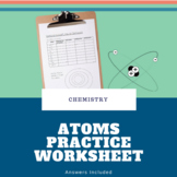Atoms, Ions & Isotopes Worksheet