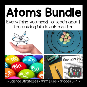 Atoms Unit Lesson Plans Hands On Activities And Research Project