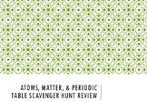 Atoms, Matter, & Periodic Table Review Scavenger Hunt