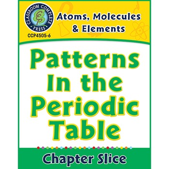 Atoms, Molecules & Elements: Patterns In the Periodic Tabl