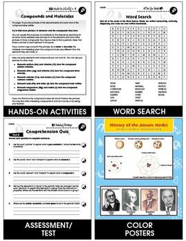 Atoms, Molecules & Elements: What Are Molecules? Gr. 5-8