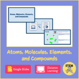 Atoms, Molecules, Elements, and Compounds DISTANCE LEARNING