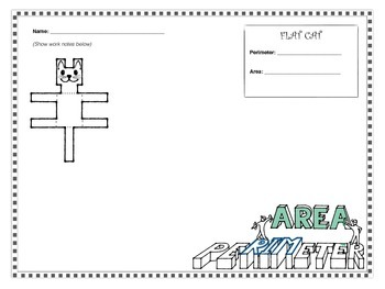 Area and Perimeter Math - Art Activities (Digital & Printable ...