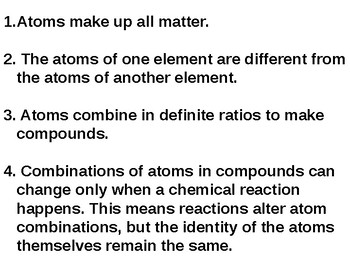 Atoms, Octet Rule, and Bond Types