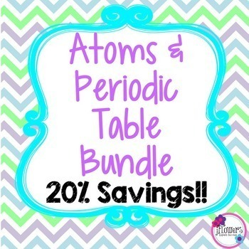 Atoms & Periodic Table Bundle! 20% Savings!!