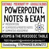 Atoms PowerPoint, Notes & Exam - Google Slides