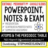 Atoms PowerPoint, Notes & Exam
