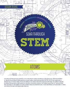 Atoms - STEM Lesson Plan With Journal page