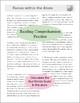 Atoms Science Reading Comprehension