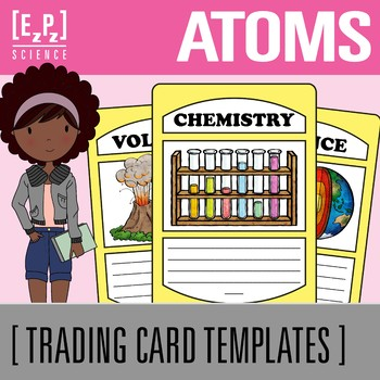 Atoms Science Trading Cards