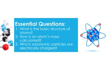 Atoms - Supplemental Lesson - No Lab