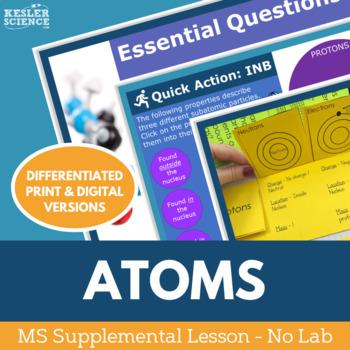 Atoms - Supplemental Lesson - No Lab