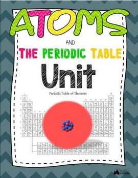 Atoms & The Periodic Table Unit - Includes Power Point, Ac