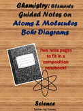 Atoms and Bohr Diagram Guided Notes