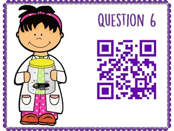 Atoms and Bonding QR Code Hunt (Content Review or Notebook Quiz)