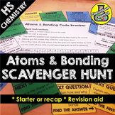 Atoms and Bonding Treasure Hunt Activity