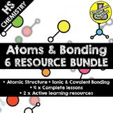 Atomic Structure, Nuclide Notation and Ionic & Covalent Bonding no prep BUNDLE