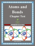 Atoms and Bonds Chapter Test (Formula Writing, Lewis Structures, etc.)