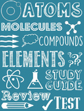 Atoms and Elements: Practice, Review, Study Guides, and Test