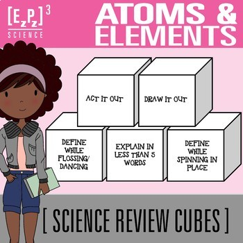 Atoms and Elements Science Cubes