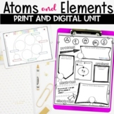 Atoms and Elements Unit of Posters, Hands on Activities, a