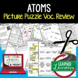 Atoms and Ions Picture Puzzle Study Guide Test Prep