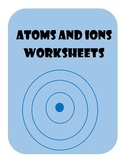 Drawing Ions Worksheets