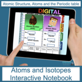 Atoms and Isotopes Digital Flip Book
