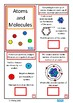 Atoms and Molecules Interactive Science Book Autism Special Education