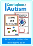 Atoms and Molecules Chemistry Book Autism Special Education