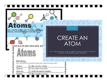 Atoms and Molecules Lesson