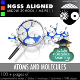 Middle School NGSS Atoms and Molecules MS-PS1-1 Aligned Pack