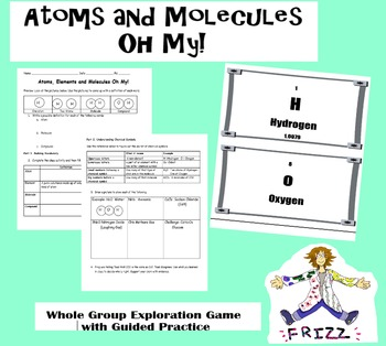 Atoms and Molecules Oh My!