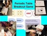 Atoms and Periodic Table Breakout Game