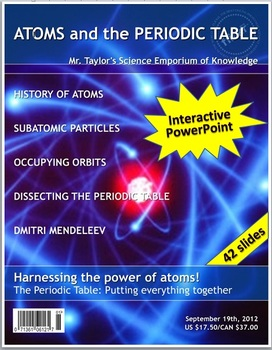 Atoms and the Periodic Table: Interactive PowerPoint