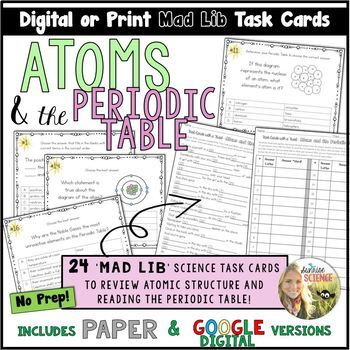 Periodic Table Letters Worksheets Teaching Resources TpT