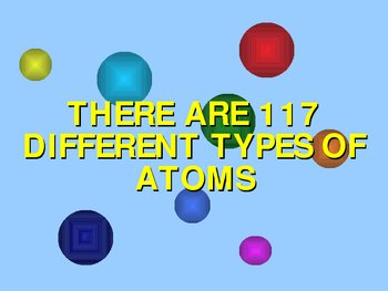Atoms for grades 6, 7, and 8.