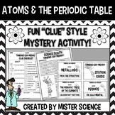 Atoms & periodic table puzzle activity 6 7 8 9th jr high Texas TEKS 8.5A, B, C