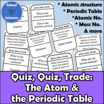 Atoms the periodic table quiz quiz trade activity hs ps1 1 tpt atoms the periodic table quiz quiz trade activity hs ps1 1 urtaz Gallery